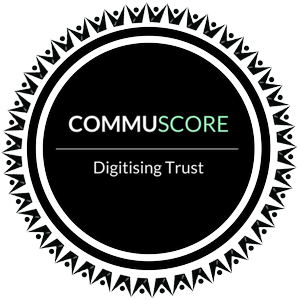CommuScore logo