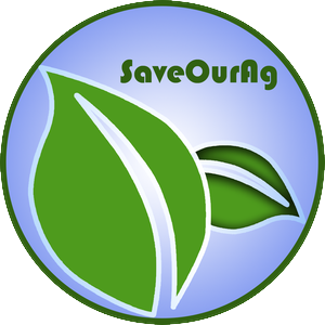 Save Our Agriculture logo