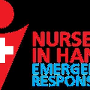 NURSE IN HAND EMERGENCY RESPONSE logo
