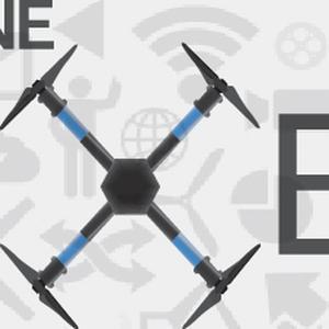 Drone pixel  logo