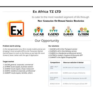 EX-AFRICA TANZANIA LIMITED logo