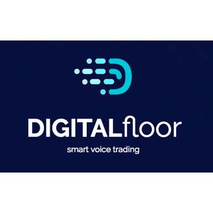 Digital floor logo