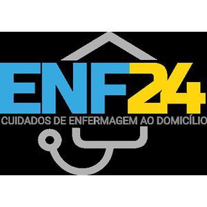 ENF24 - Cuidados de Enfermagem ao domicílio, lda. logo